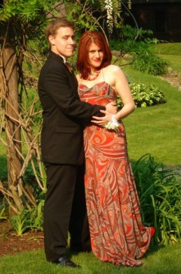 Mary-Reid and Mike: Senior Prom 2007. For real people!