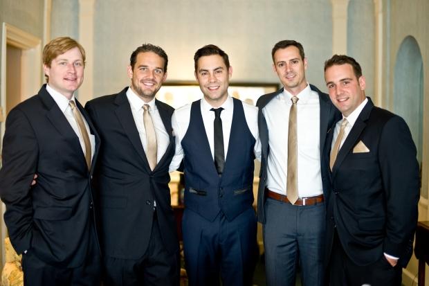 Handsome groomsmen!